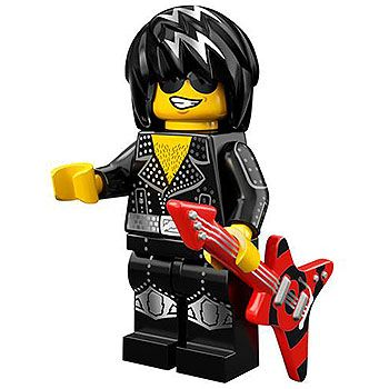 LEGO Rock Star Minifigure