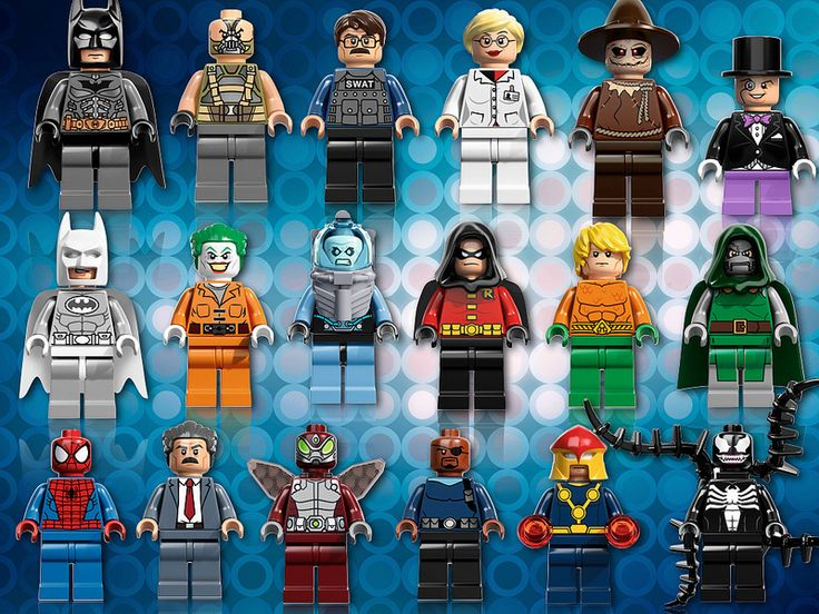 LEGO Super Heroes Minifigures for 2013 – both DC and Marvel! thebrickblogger.c…..