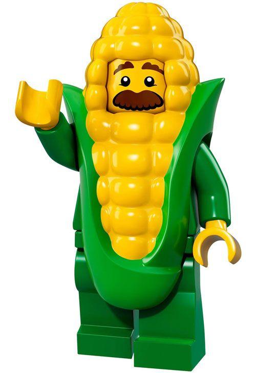 LEGO minifigure series 17 – 71018 – Corn Cob Guy