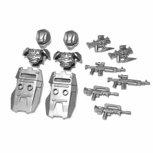 Guerilla Fighter Minifigure Accessories