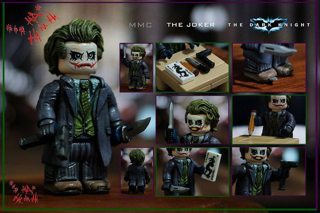 The Dark Knight Joker Custom Minifigure | Custom LEGO