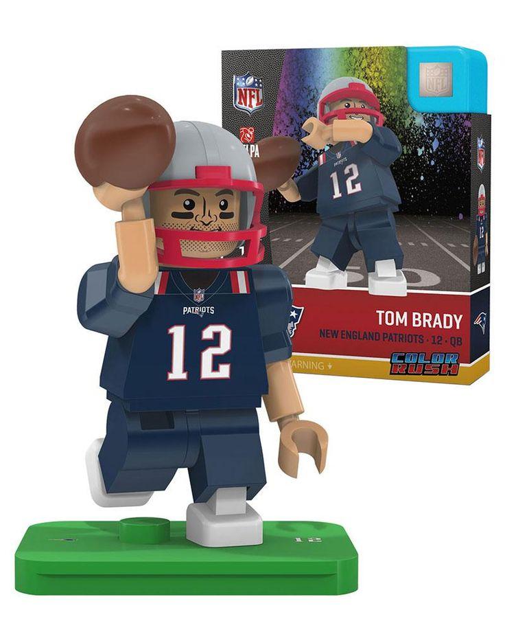 NFL New England Patriots Tom Brady Color Rush Mini Figure
