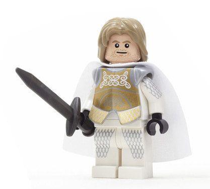 Sir James of House Inbredd – Custom Figure made from Genuine LEGO Minifigure Elements