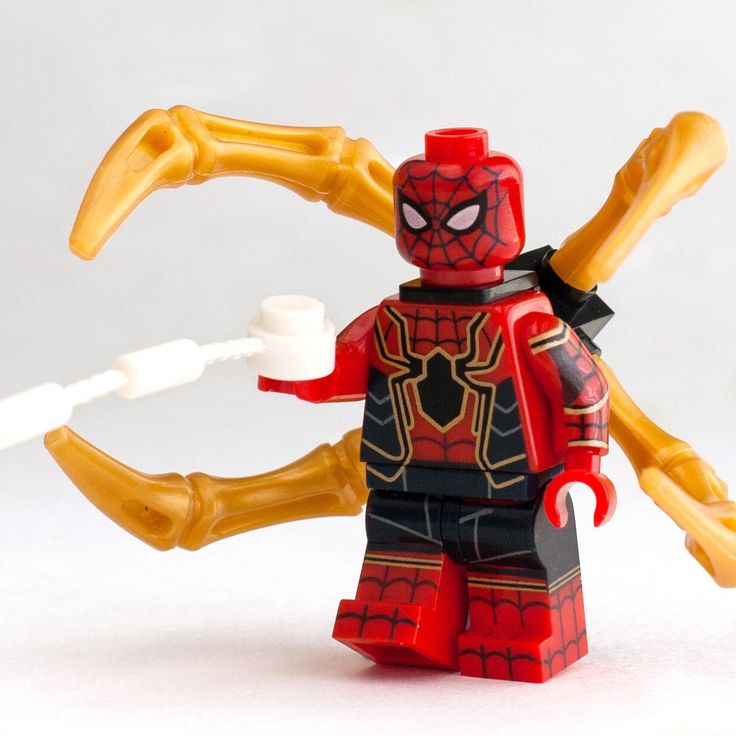 Details about Custom Toy Design Minifigure Bricks Avengers Infinity War Spiderman Iron Spider