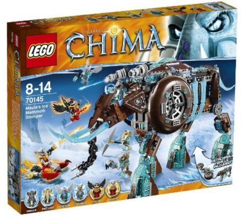 Tyler loves any of the Chima Lego stuff….but they are pretty expensive