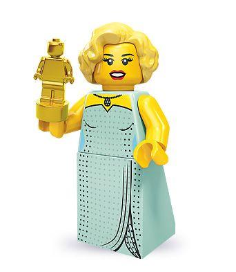 LEGO Minifigures Series 9 Hollywood Starlet – Love love love! She looks just lik…