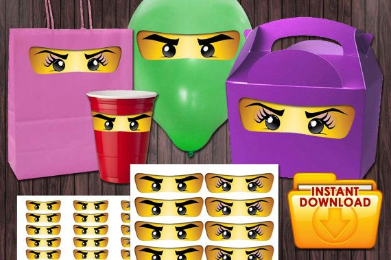 photograph regarding Printable Ninjago Eyes titled Ninjago Eyes Boy and Female Eyes Eyelashes 3 Measurements Birthday