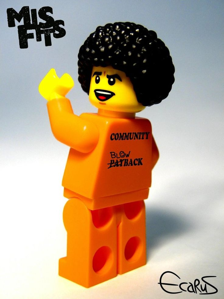 Custom Minifigure – Nathan Young from Misfits by ~OnizukaAS on deviantART