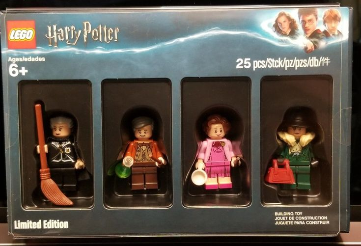 LEGO 5005254 Harry Potter Bricktober Minifigure US Seller In Hand | eBay