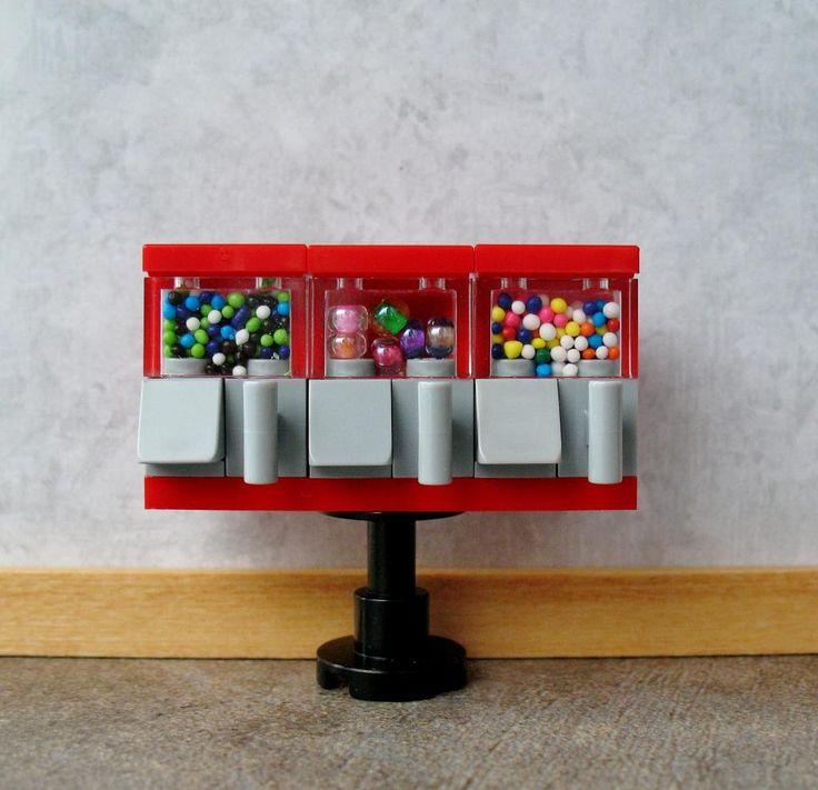 dollhouse miniatures from legos | … lego ring toss game custom lego bird house…