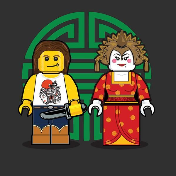 """LEGO Jack Burton"" by Dan Shearn"