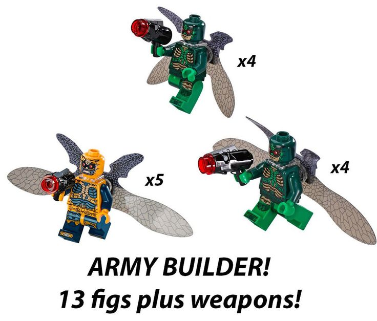 NEW LEGO Parademon Minifigure lot 13 DC Super Heroes 76085 76086 Army Builder!