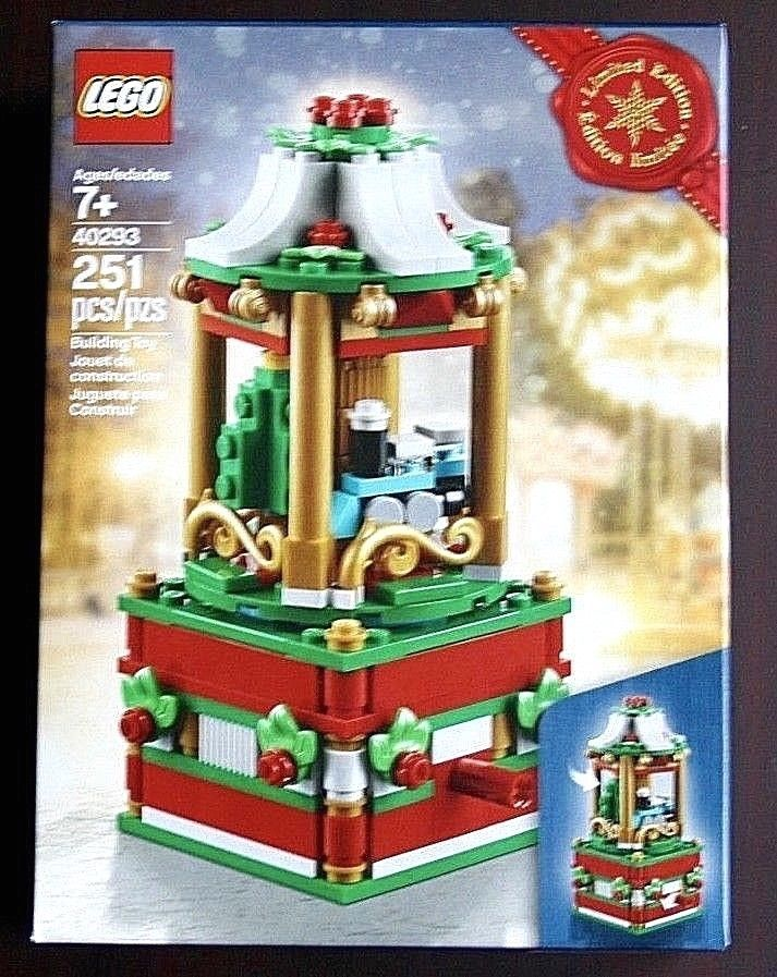 Lego CHRISTMAS CAROUSEL 40293 Tree Seasonal Exclusive Holiday 2018 Limited – NEW