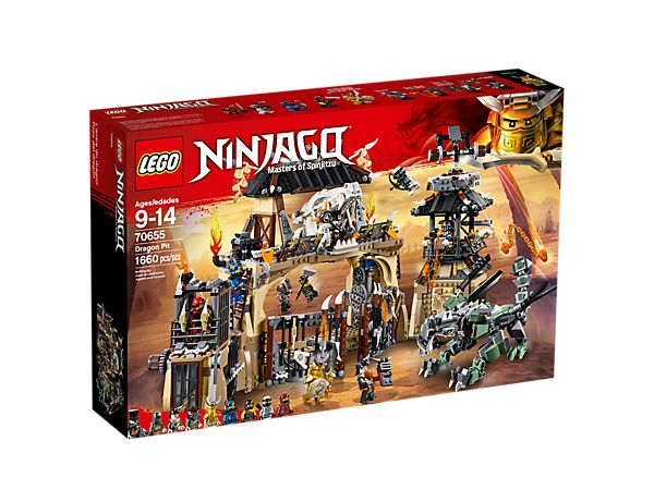 Dragon Pit 70655 | NINJAGO® | Buy online at the Official LEGO® Shop US