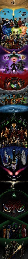 Ultimate Ninjago Poster by joshuad17