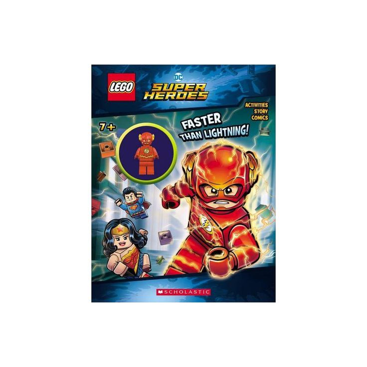 Faster Than Lightning! – (Lego DC Super Heroes) by Ameet Studio (Mixed media product)