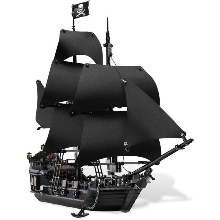 Pirates of The Caribbean The Black Pearl Ship Building Blocks