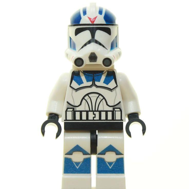 Custom Minifigur – Clone Trooper Rocket, Jetpack