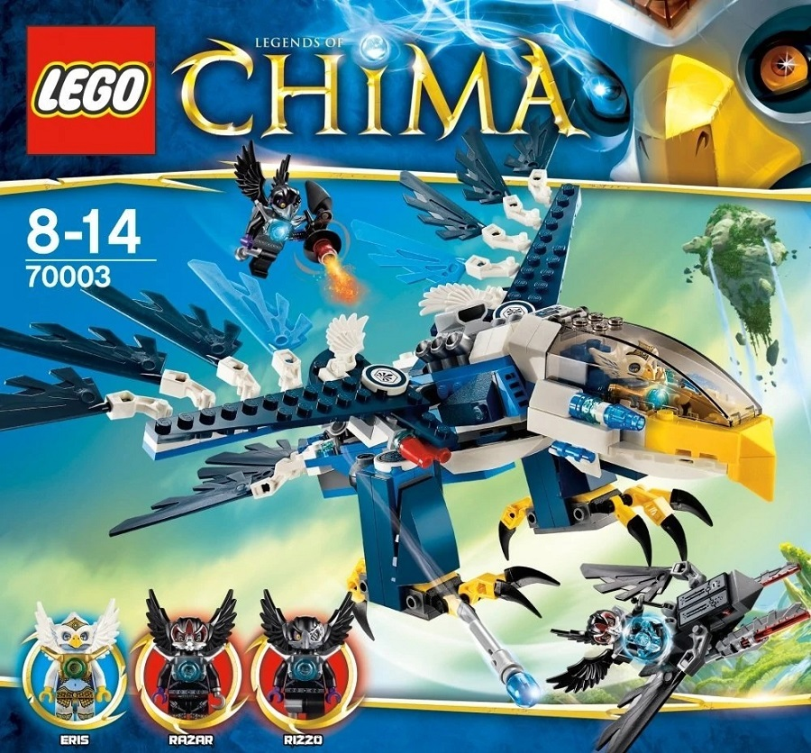 LEGO Chima Eris Eagle Interceptor Play Set