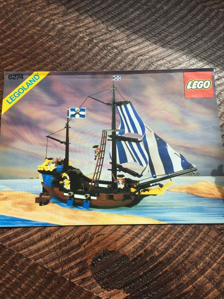 LEGO 6274 CARIBBEAN CLIPPER – COMPLETE SET WITH MANUAL