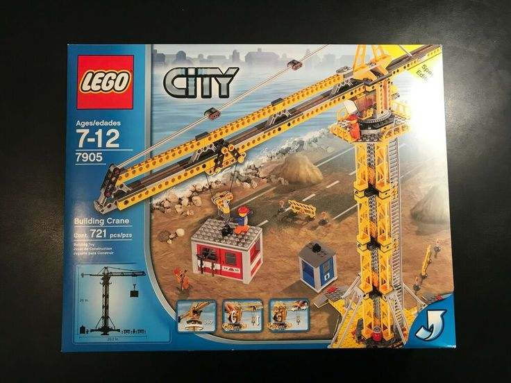 LEGO City Building Crane (7905) Special Edition – Brand New, Sealed Box – RARE!