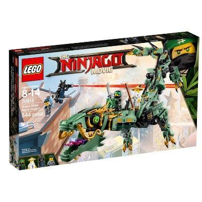 LEGO Ninjago Movie Green Ninja Mech Dragon 70612 Ninja Toy with Dragon Figurine Building Kit