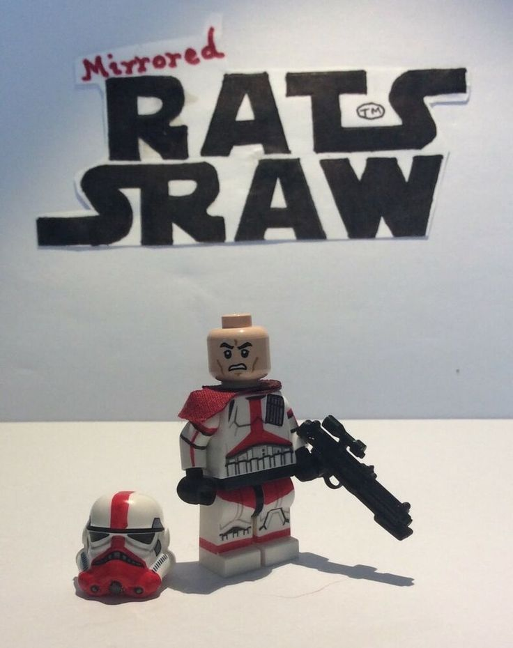 Lego Star Wars minifigures – Custom Incinerator Stormtrooper
