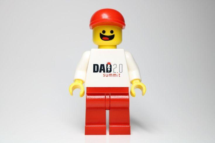 LEGO Dad 2.0 Summit Minifigure