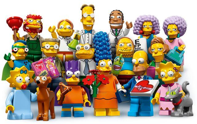 LEGO Simpsons Minifigures Series 2 Figures Blind Bags Revealed