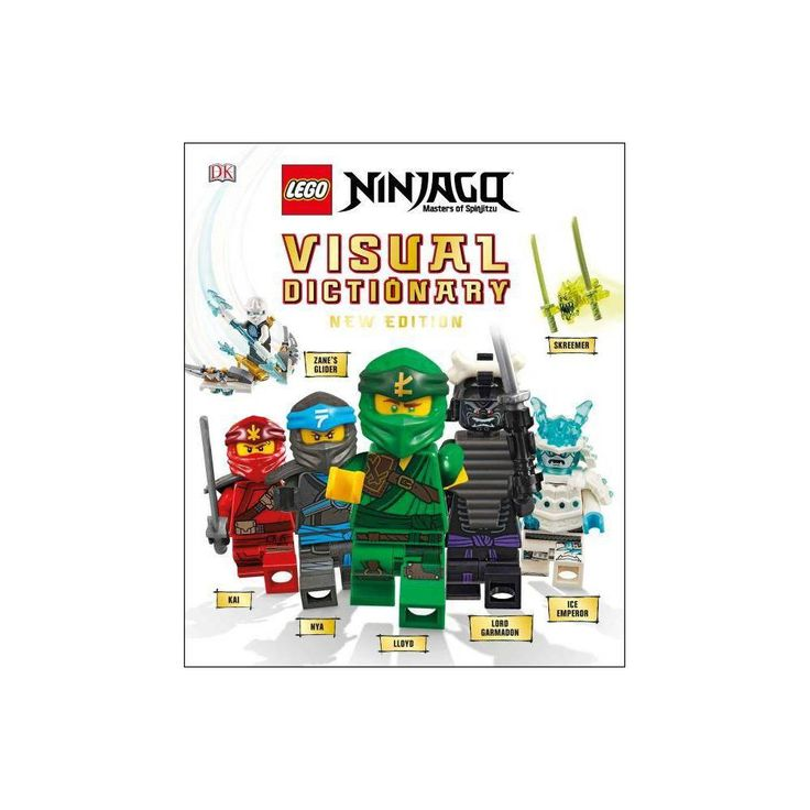 Lego Ninjago Visual Dictionary, New Edition (Library Edition) – by Arie Kaplan &…