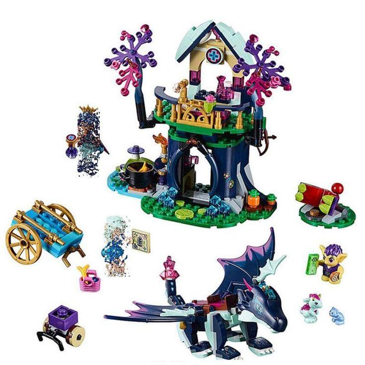 Dragon Rosalyn Healing Hideout – Lego Elves
