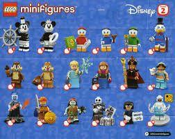 Mini Mouse Lego Disney Minifig Series 2
