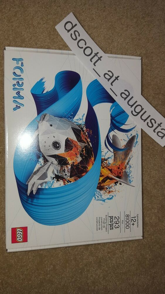 LEGO Forma 81000 Koi Fish – Limited Edition – BRAND NEW – SEALED