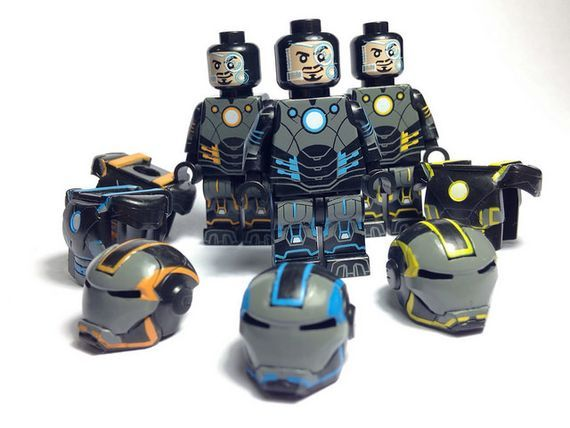 Grid Iron eclipseGrafx Custom Minifigure Wave