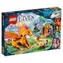 Lego Elves: Fire Dragons Lava Cave (41175) 41175 Join Emily Jones and Azari Fire…