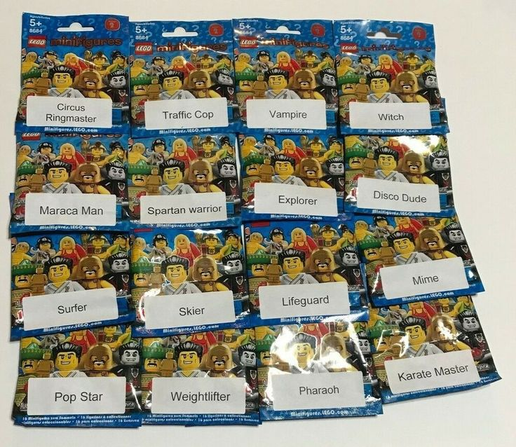 Lego Minifigures Series 2 Complete Brand New Sealed Lot Of All 16 Figures 8684