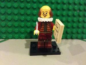 Lego Minifigures Series 12 The Lego Movie 8 William Shakespeare New | eBay