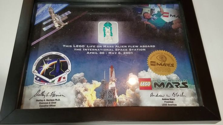Minifigure that has been to space – Lego Life on Mars International Spac…