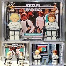 Find great deals for Star Wars Luke Han Solo 2-pack custom MINIFIGURE w Display …
