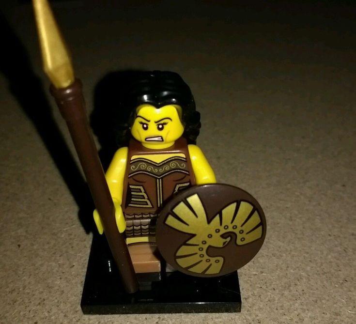 lego minifigure series 10 Amazon warrior