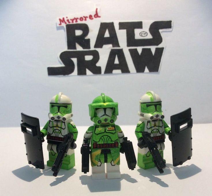 Lego Star Wars minifigures – Clone Custom Troopers – Commander Doom Set
