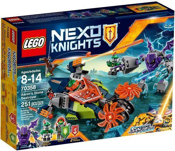 Bộ đồ chơi Lego Nexo Knight mô hình Cỗ Máy Đá Của Aaron