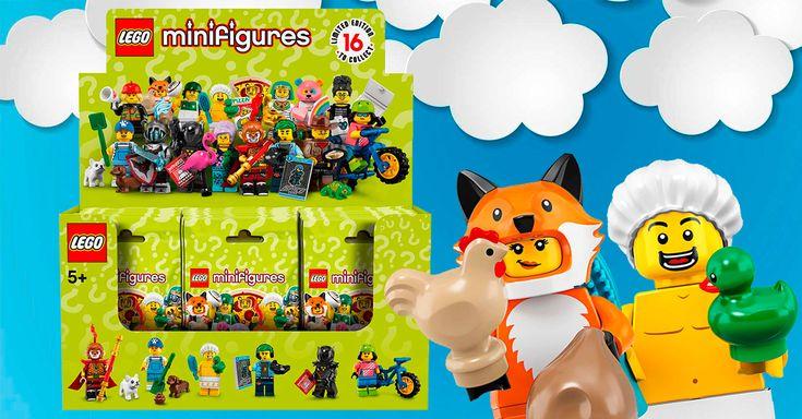 Précommandes ouvertes pour la boite de 60 sachets de minifigs à collectionner Série 19 (LEGO 71025