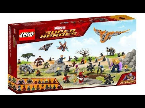 Lego Marvel Infinity War The War of Wakanda 75487 Set !!! Photoshop – YouTube