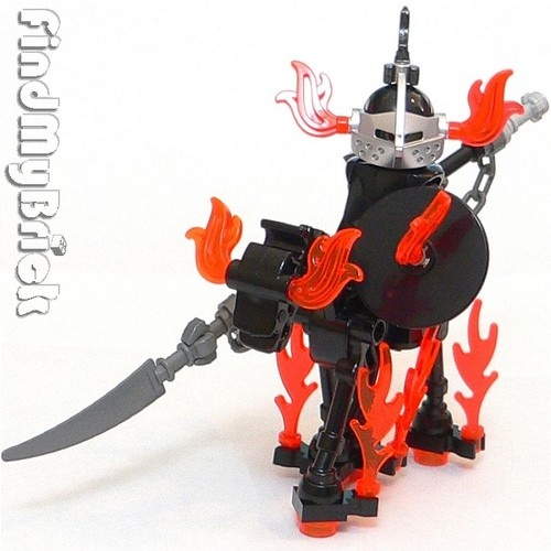 Details about C501 Lego Ghost Army Rider Custom Knight Minifigure & Skeleton Horse NEW