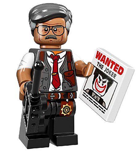 Lego The Batman Movie – Commissioner Gordon Minifigure – 71017 (bagged)