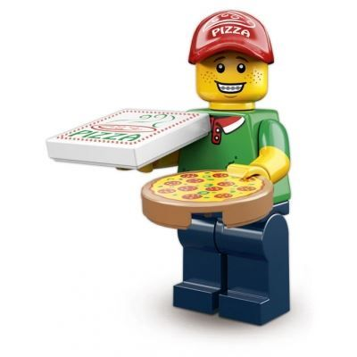 LEGO Minifigures – Pizza Delivery Man | Minifigures Series 12 | Collectable LEGO…