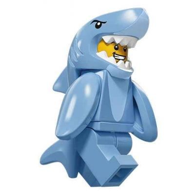LEGO Minifigures – Shark Suit Guy | Minifigures Series 15 | Collectable LEGO Min…