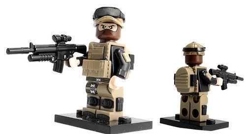 Blake Colt Tiny Tactical Custom Minifigure