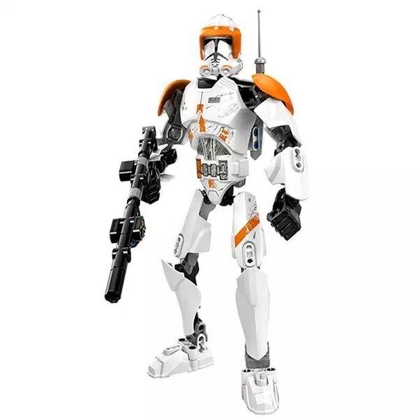2015 New KSZ 712-2 Star Wars Super Heros Clone Commander Cody 82pcs Minifigure Building Blocks Toys Action Figure Gift L75108